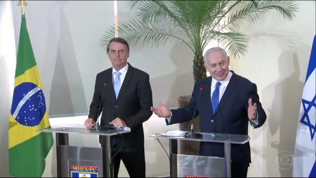 Brasil e Israel – Pela primeira vez premiê israelense em visita ao Brasil
